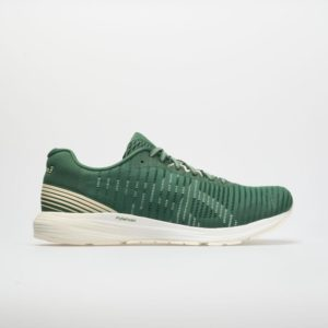 ASICS Dynaflyte 3 Sound: ASICS Men's Running Shoes Hunter Green/Cream