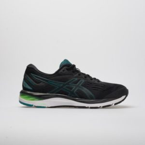 ASICS GEL-Cumulus 20: ASICS Men's Running Shoes Black/Beryl Green