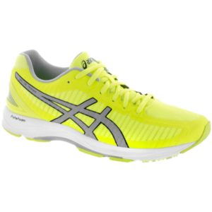 ASICS GEL-DS Trainer 23: ASICS Men's Running Shoes Safety Yellow/Mid Grey/White