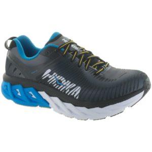 Hoka One One Arahi 2: Hoka One One Men's Running Shoes Black/Charcoal Gray