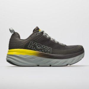Hoka One One Bondi 6: Hoka One One Men's Running Shoes Black Olive/Pavement