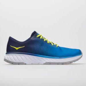 Hoka One One Cavu 2: Hoka One One Men's Running Shoes French Blue/Lime Green