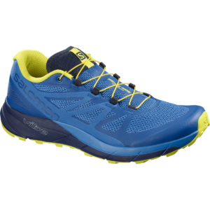 Salomon Men's Sense Ride Trail Running Shoes - Blue - Size 8