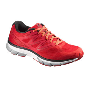 Salomon Men's Sonic Running Shoes Matador/White/Flame