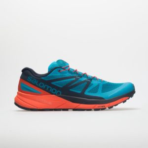 Salomon Sense Ride: Salomon Men's Trail Running Shoes Fjord Blue/Cherry Tomato/Navy Blazer