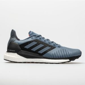 adidas Solar Glide ST: adidas Men's Running Shoes Raw Steel/Hi-Res Aqua