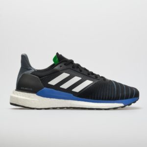adidas Solar Glide: adidas Men's Running Shoes Black/White/Shock Lime