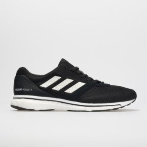 adidas adizero adios 4: adidas Men's Running Shoes Core Black/White