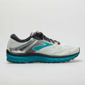 Brooks Adrenaline GTS 18: Brooks Women's Running Shoes White/Black/Teal