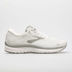 Brooks Adrenaline GTS 18: Brooks Women's Running Shoes White/White/Grey