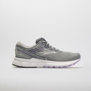 Brooks Adrenaline GTS 19: Brooks Women's Running Shoes Gray/Lavender/Navy