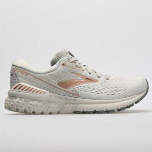 Brooks Adrenaline GTS 19: Brooks Women's Running Shoes Grey/Copper/White