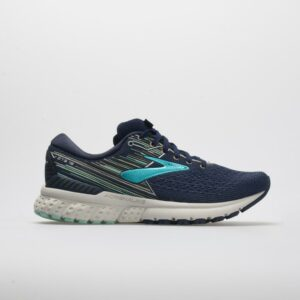 Brooks Adrenaline GTS 19: Brooks Women's Running Shoes Navy/Aqua/Tan