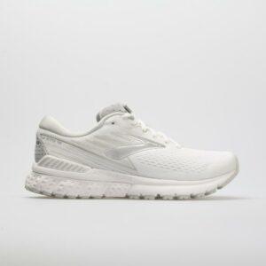 Brooks Adrenaline GTS 19: Brooks Women's Running Shoes White/White/Gray