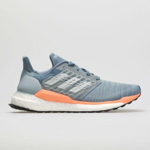 adidas Solar Boost: adidas Women's Running Shoes Raw Grey/White/Chalk Coral