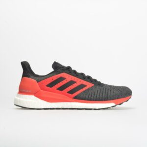 adidas Solar Glide ST: adidas Men's Running Shoes Black/Hi-Res Red