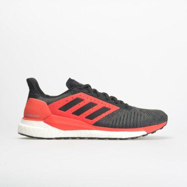 adidas Solar Glide ST: adidas Men's Running Shoes Black/Hi-Res Red