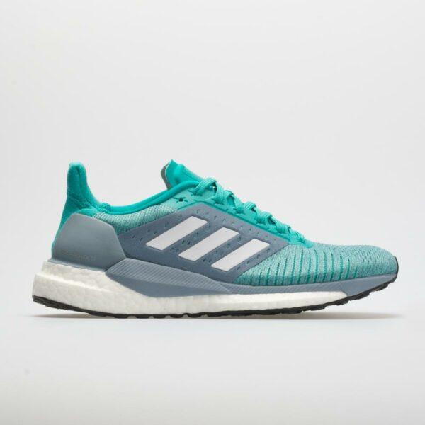 adidas Solar Glide ST: adidas Women's Running Shoes Hi-Res Aqua/White/Clear Mint