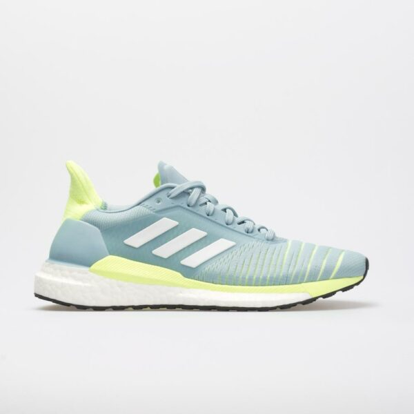 adidas Solar Glide: adidas Women's Running Shoes Ash Grey/White/Hi-Res Yellow