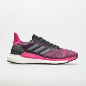 adidas Solar Glide: adidas Women's Running Shoes Carbon/Grey/Real Magenta