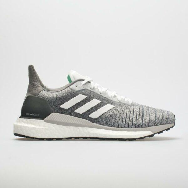 adidas Solar Glide: adidas Women's Running Shoes Heathered Gray/White