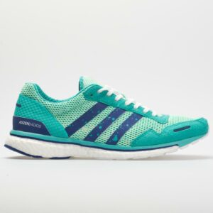 adidas adizero Adios 3: adidas Women's Running Shoes Clear Mint/Mystery Ink/Hi-Res Aqua
