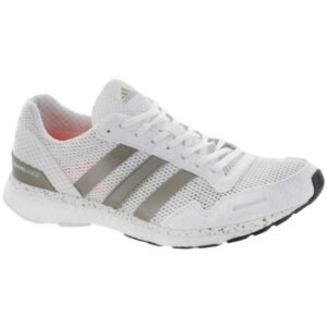 adidas adizero Adios 3: adidas Women's Running Shoes White/Gold