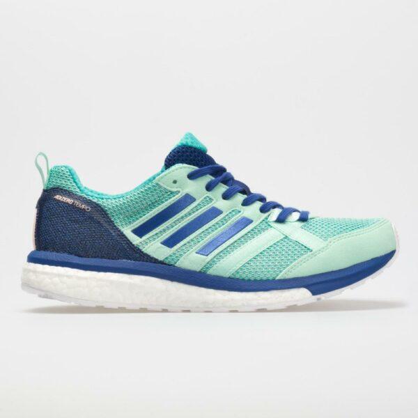 adidas adizero Tempo 9: adidas Women's Running Shoes Clear Mint/Mystery Ink/Hi-Res Aqua