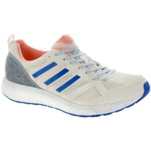 adidas adizero Tempo 9: adidas Women's Running Shoes Hi-Res Orange/Hi-Res Blue/Off White
