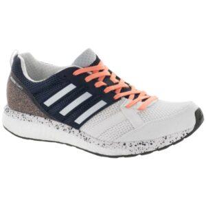 adidas adizero Tempo 9: adidas Women's Running Shoes White/Aero Blue/Core Black