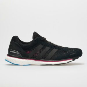 adidas adizero adios 3: adidas Women's Running Shoes Black/Real Magenta/Bright Blue