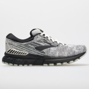Brooks Adrenaline GTS 19: Brooks Women's Running Shoes White/Black/Grey