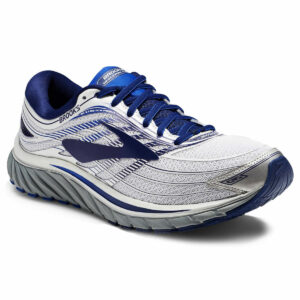 Brooks Men's Glycerin 15 Running Shoes, Silver - Black