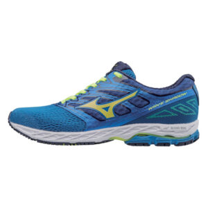 Mizuno Men's Wave Shadow Running Shoes Blue/Yellow