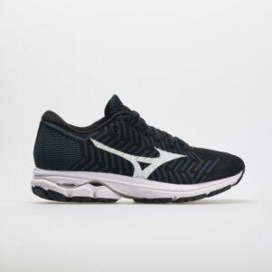 Mizuno Waveknit R2: Mizuno Women's Running Shoes Black/Ombre Blue