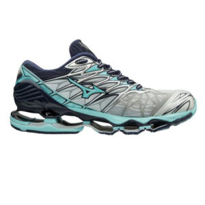 Mizuno Women's Wave Prophecy 7 Shoes Silver