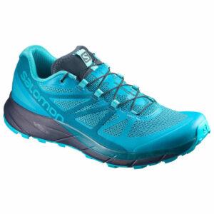 Salomon Women's Sense Ride Trail Running Shoes, Bluebird - Blue - Size 11