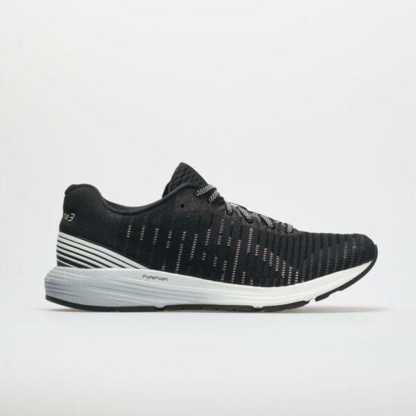 ASICS Dynaflyte 3 Women's Running Shoes Black/White Size 8.5 Width B - Medium