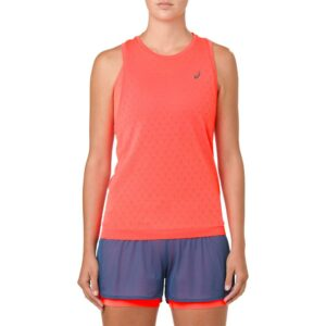 ASICS GEL-Cool Sleeveless Top Women's Running Apparel Flash Coral, Size Small