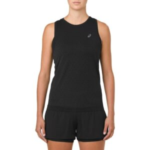 ASICS GEL-Cool Sleeveless Top Women's Running Apparel Performance Black, Size Medium