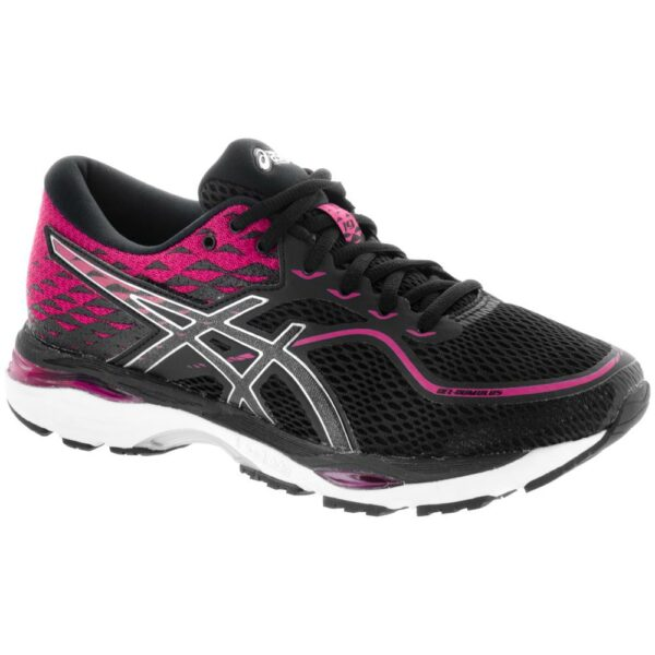ASICS GEL-Cumulus 19 Women's Running Shoes Black/Silver/Ink Peacoat Size 7 Width B - Medium