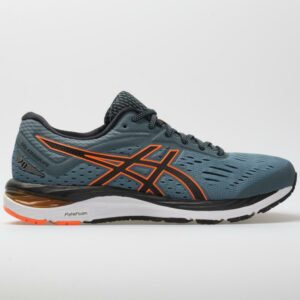 ASICS GEL-Cumulus 20 Men's Running Shoes Iron Clad/Black Size 9.5 Width D - Medium