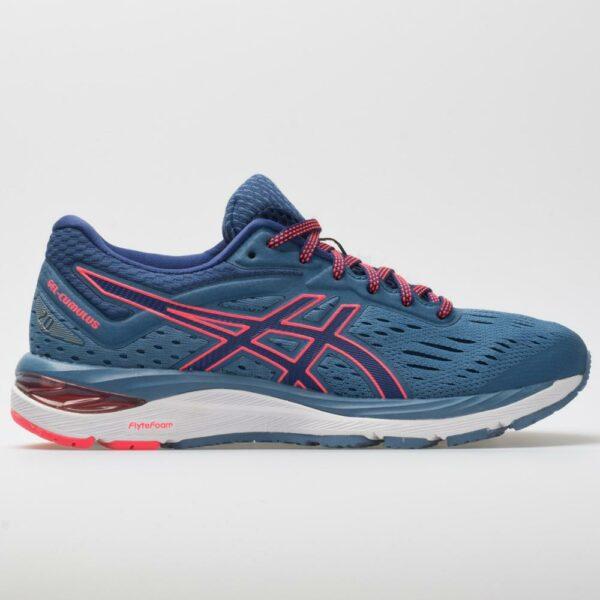 ASICS GEL-Cumulus 20 Women's Running Shoes Azure/Blue Print Size 10.5 Width D - Wide