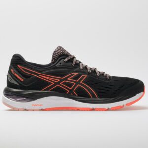 ASICS GEL-Cumulus 20 Women's Running Shoes Black/Flash Coral Size 8.5 Width B - Medium