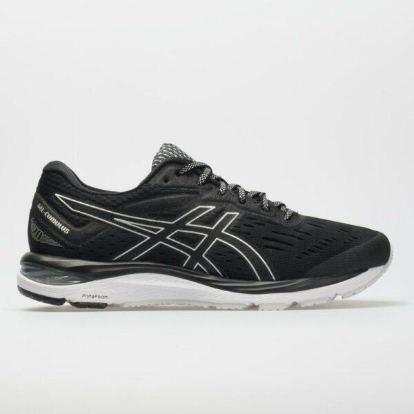ASICS GEL-Cumulus 20 Women's Running Shoes Black/White Size 10.5 Width B - Medium