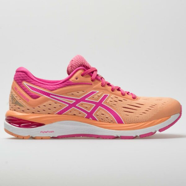 ASICS GEL-Cumulus 20 Women's Running Shoes Mojave/Fuschia Purple Size 7 Width B - Medium