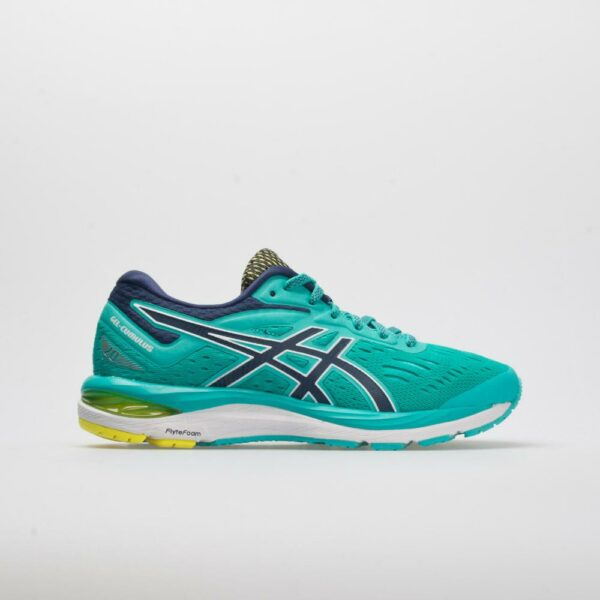 ASICS GEL-Cumulus 20 Women's Running Shoes Seaglass/Indigo Blue Size 9 Width B - Medium