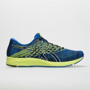 ASICS GEL-DS Trainer 24 Men's Running Shoes Illusion Blue/Black Size 14 Width D - Medium