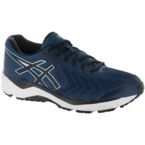ASICS GEL-Foundation 13 Men's Running Shoes Dark Blue/Black/White Size 8 Width 4E - Extra Wide