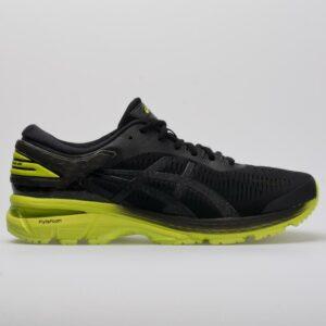 ASICS GEL-Kayano 25 Men's Running Shoes Black/Neon Lime Size 10.5 Width D - Medium